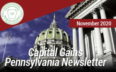 Capital Gains Pennsylvania – Nov 2020