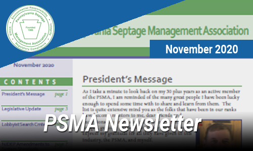 PSMA Newsletter – Nov 2020