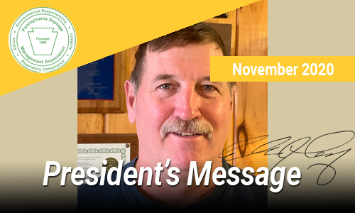 President's Message – Nov 2020