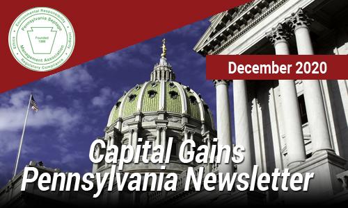 Capital Gains Pennsylvania – Dec 2020