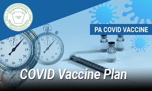 PA COVID Vaccine Plan Update for Wastewater Professionals