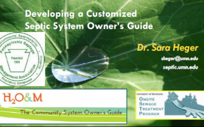 Developing a Septic System Owners Guide