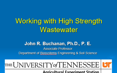 High Strength Wastewater