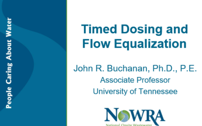 Time Dosing and Flow Equalization