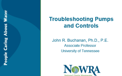 Troubleshooting Pumps & Controls