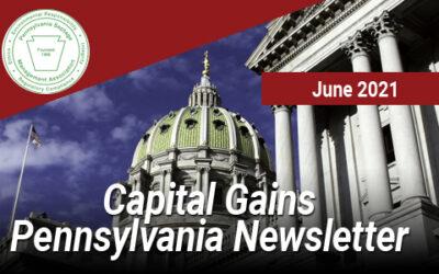 Capital Gains Pennsylvania – June 2021