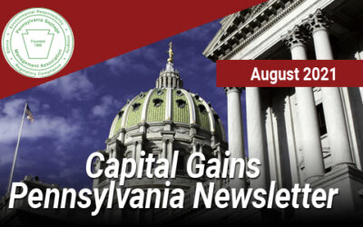 Capital Gains Pennsylvania – August 2021